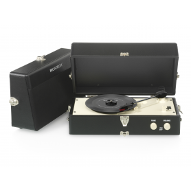 Ricatech RTT80 Vintage Turntable Black